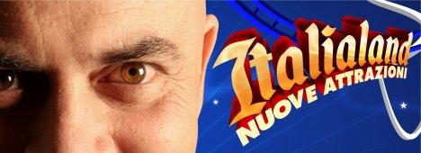 Maurizio Crozza in diretta ogni venerdi su La7 con ''Italialand-Nuove attrazioni''