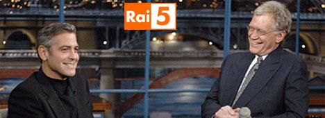 David Letterman approda su Rai 5: da stasera il suo ''Late Show'' per la prima volta in chiaro