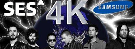Il concerto dei Linkin Park a Berlino, diretta 4K su Astra Ultra HD Demo