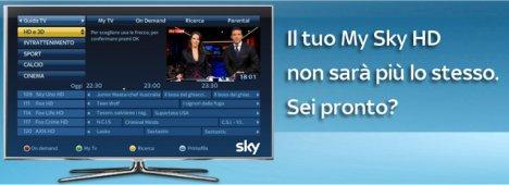 Novità Sky, da oggi MySky registra anche i canali generalisti Rai e Mediaset