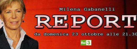Rai 3: Milena Gabanelli ritorna con le nuove inchieste di ''Report''