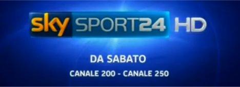 Sky Sport24 HD: l'all news sportiva, da oggi è anche in Alta Definizione