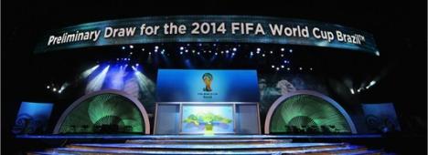 Qualificazioni Mondiali Brasile 2014, il sorteggio in diretta su Sky e Rai Sport
