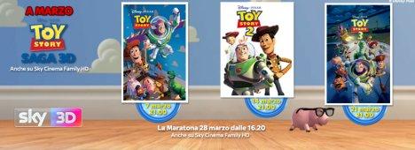 Toy Story, su Sky Cinema e Sky 3D la trilogia del mondo dei giocattoli Disney