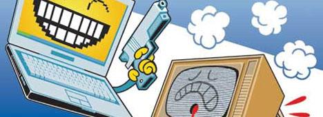 Il Venerdìtoriale - L'allarme di Lessig: ''In Italia la tv rischia di uccidere la Rete''