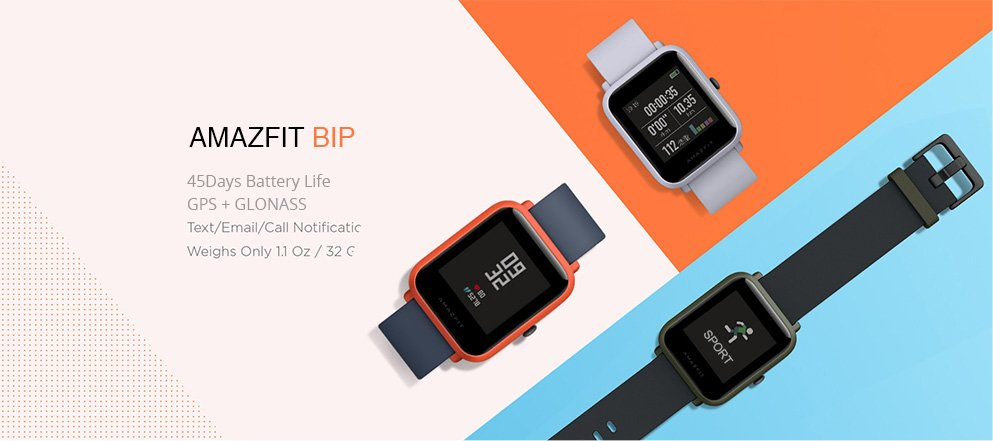 Huami Amazfit Smartwatch Youth Edition